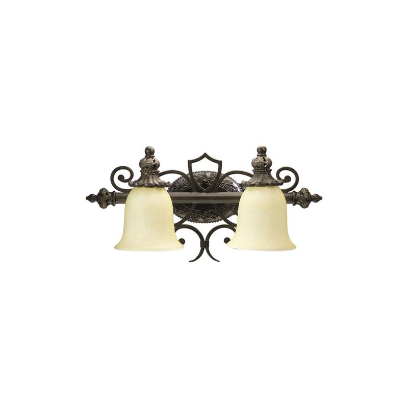 Quorum International 5032-2 Two Light Bathroom Fixture from the Fulton Sale $138.00 ITEM: bci1349971 ID#:5032-2-54 :