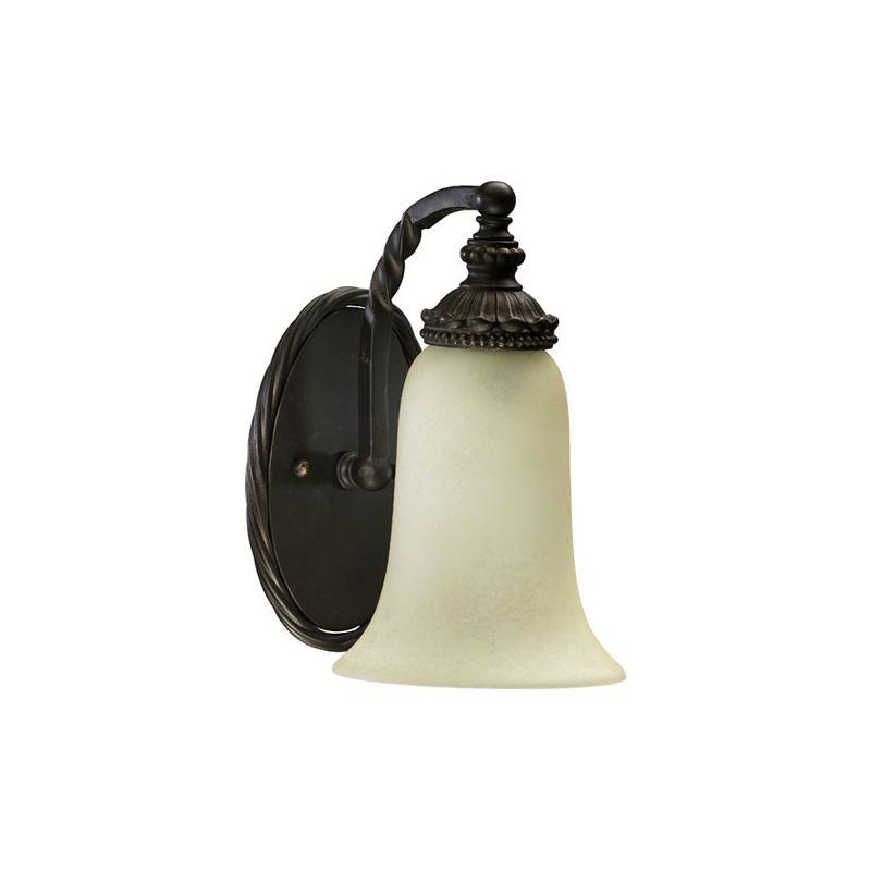 Quorum International 5286-1 Alameda 1 Light Bathroom Sconce Oiled