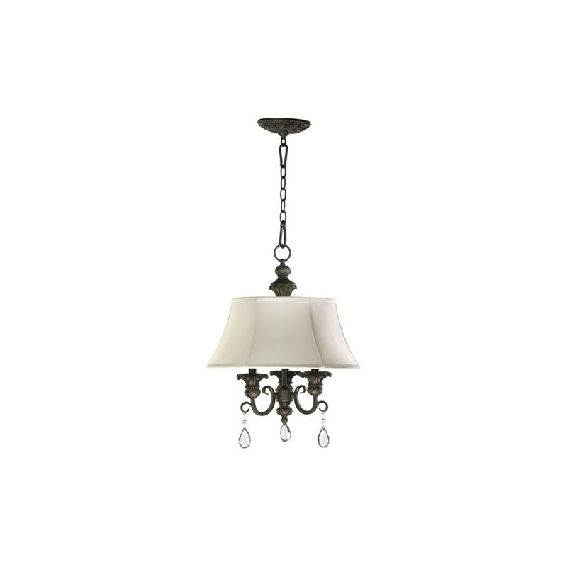 Quorum International 6132-3 Fulton 3 Light 1 Tier Mini Chandelier