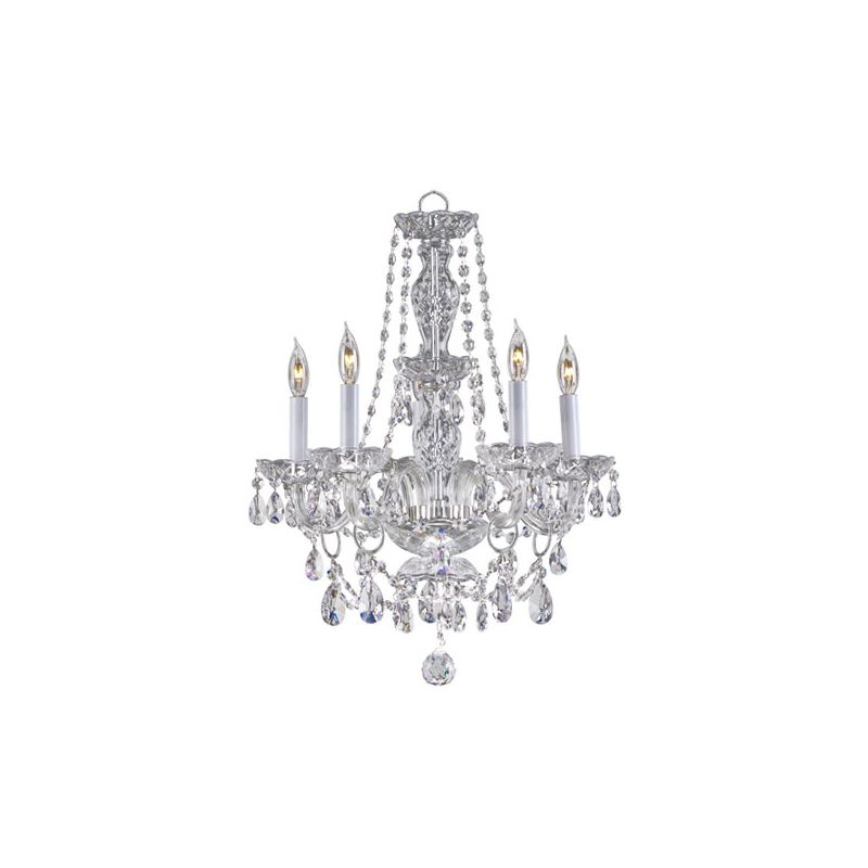 Quorum International 630-5 Bohemian Katerina 5 Light 1 Tier Chandelier