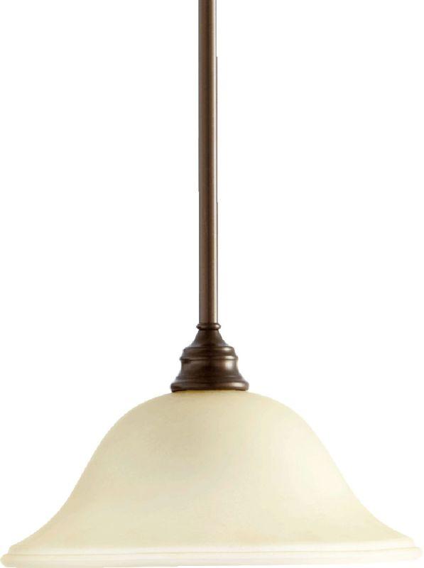 Quorum International 654 Bryant 1 Light Full Sized Pendant Oiled