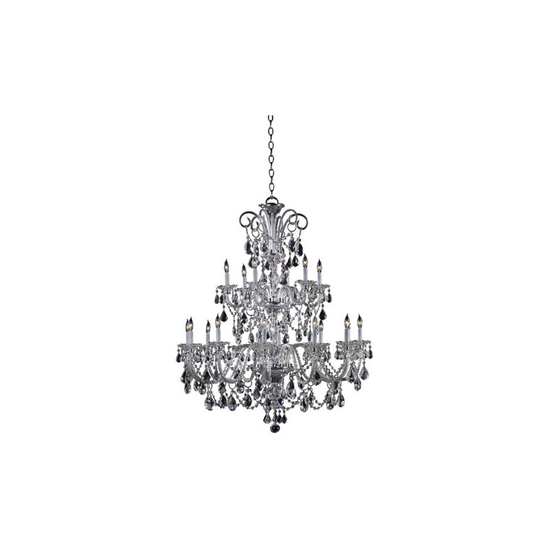 Quorum International 664-18 Bohemian Marien 18 Light 2 Tier Chandelier
