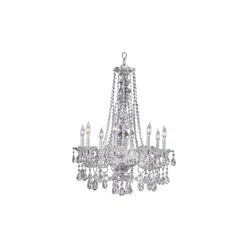 Quorum International 664-8 Bohemian Marien 8 Light 1 Tier Chandelier