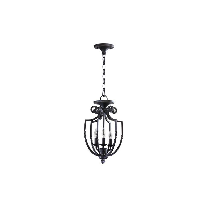 "Quorum International 6778-3 Tribeca II 17"" Height 3 Light Pendant Old"