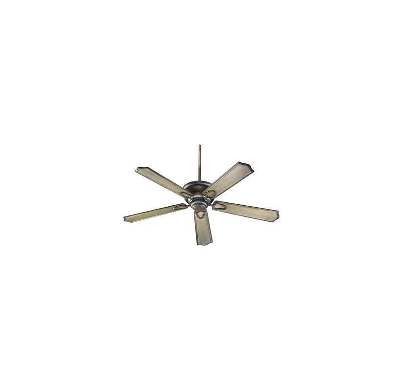 "Quorum International 72565-24 56"" Five Blade Indoor Ceiling Fan from"