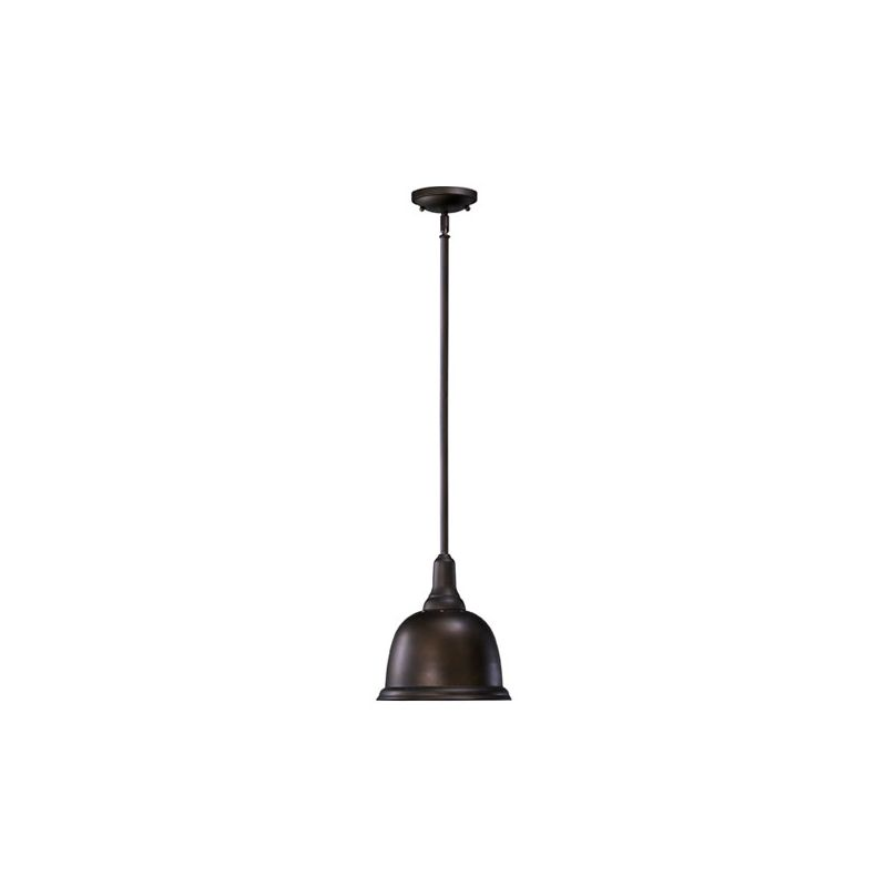Quorum International 802-10-86 Oiled Bronze Industrial Mooers Pendant