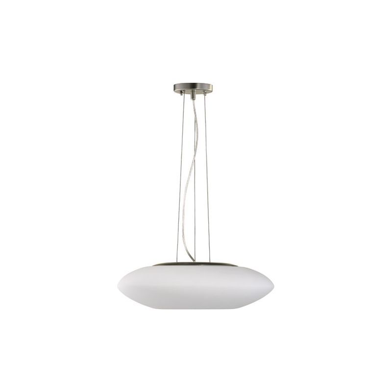 Quorum International 808 3 Light Mini Pendant with Glass Round Shade