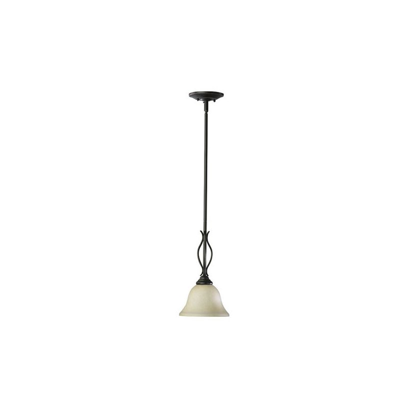 Quorum International 3110 Spencer 1 Light Mini Pendant Toasted Sienna