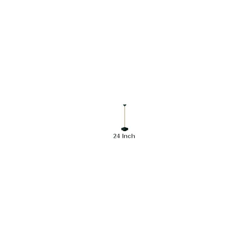 Quorum International Q6-24 24 Inch Ceiling Fan Downrod Black Ceiling