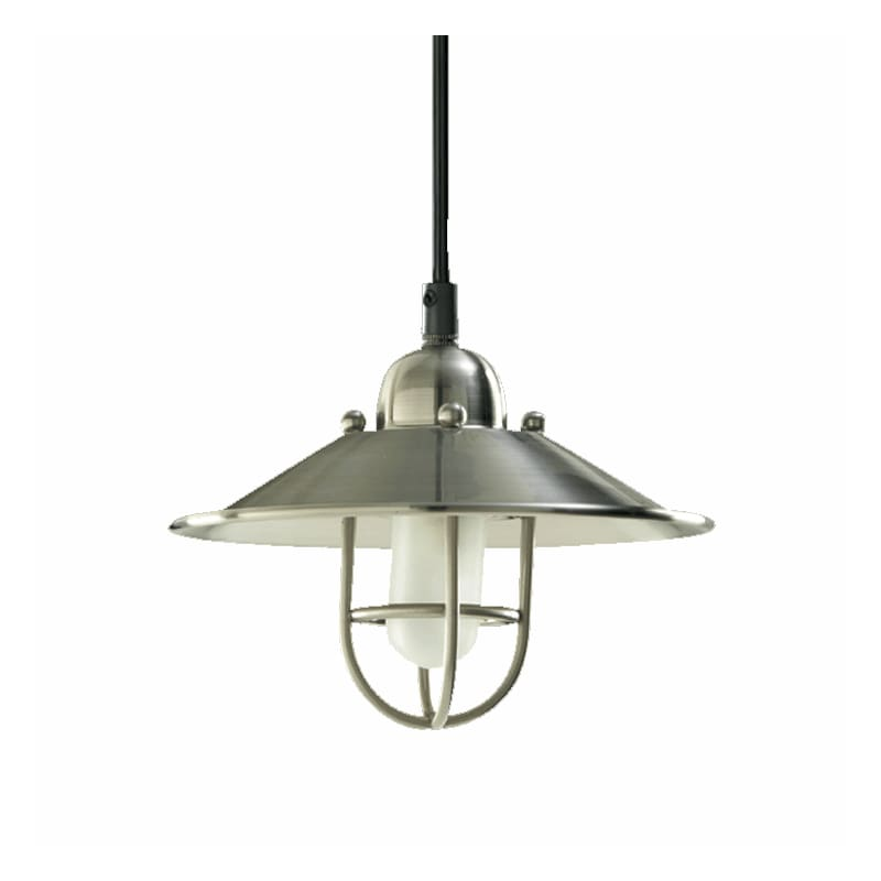 Quorum International 1310-65 Satin Nickel 1 Light Mini