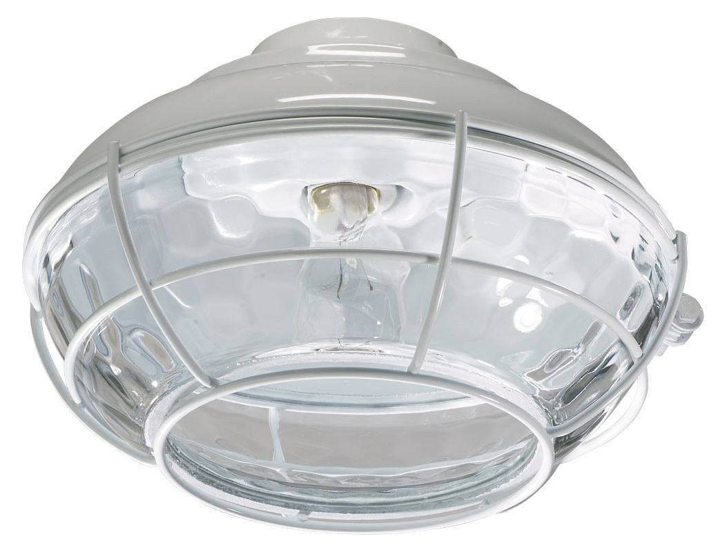 Quorum International 1374-CFL Hudson 1 Bulb Outdoor Fluorescent Fan