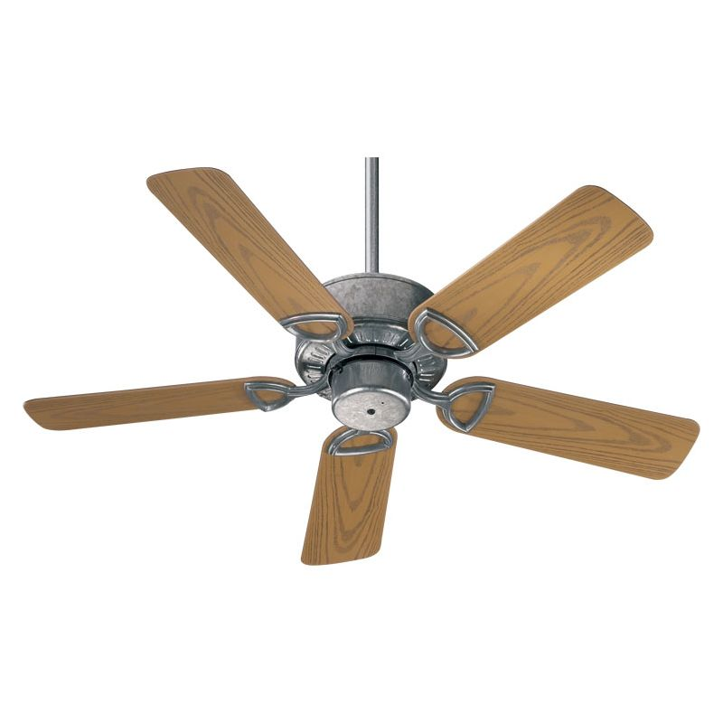 Quorum International Q143425 Outdoor Ceiling Fan from the Estate Patio