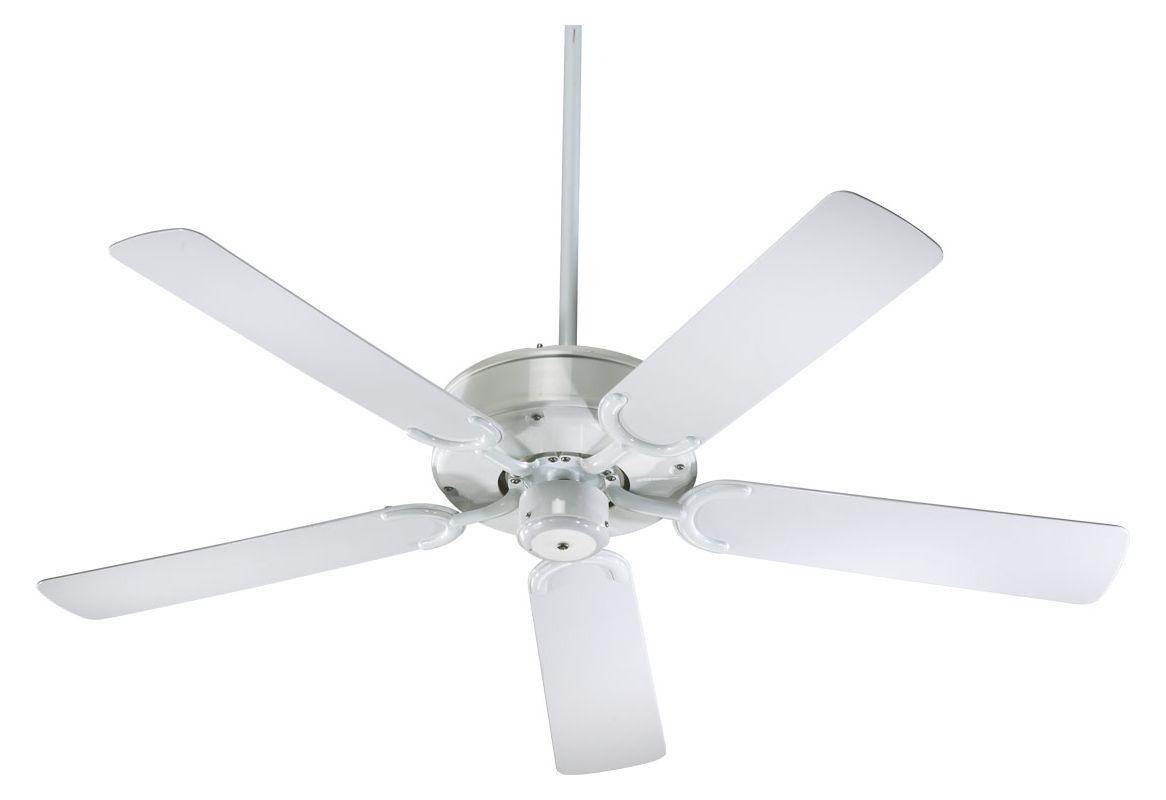 "Quorum International 146525 5 Blade 52"" Outdoor Ceiling Fan � Blades"