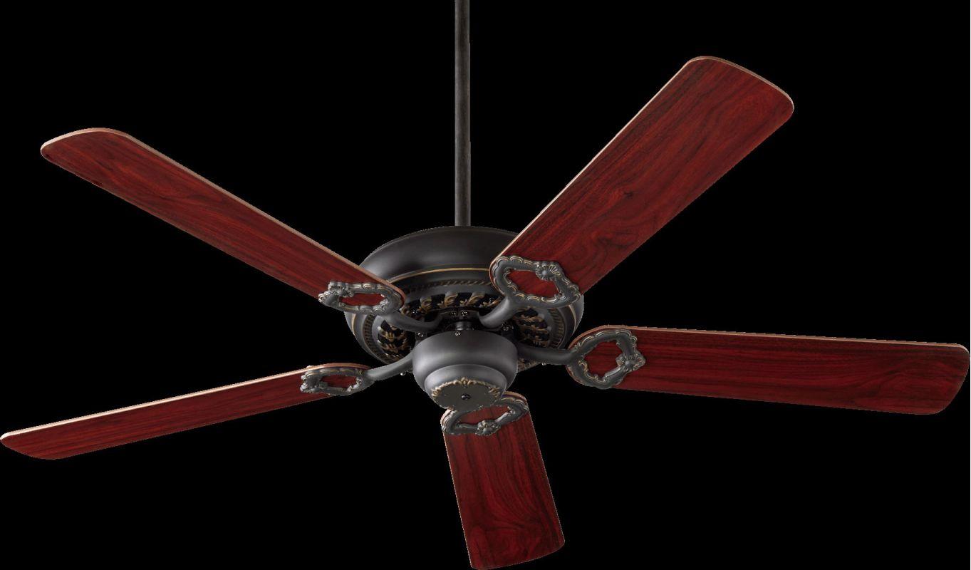 "Quorum International 17520 Monticello 52"" 5 Blade Indoor Ceiling Fan"