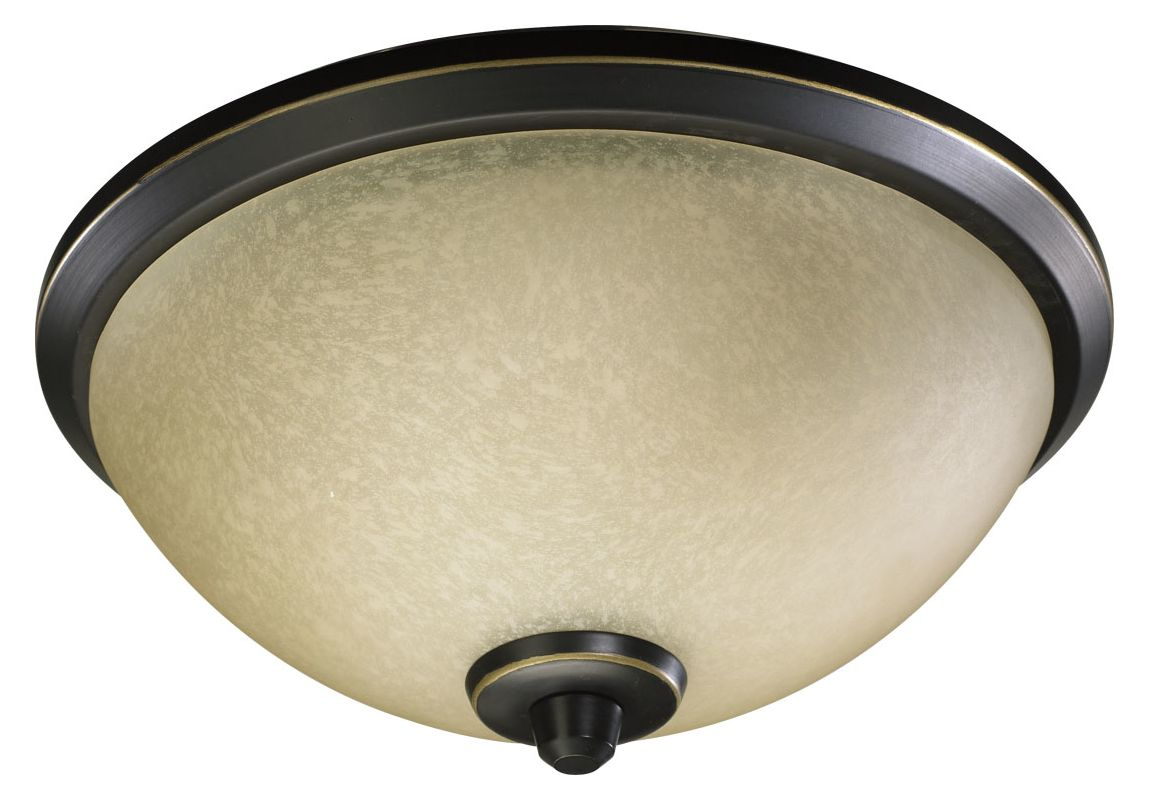 Quorum International 2389 Three Light Flush Mount Ceiling Fixture from Sale $92.00 ITEM: bci987368 ID#:2389-9195 :