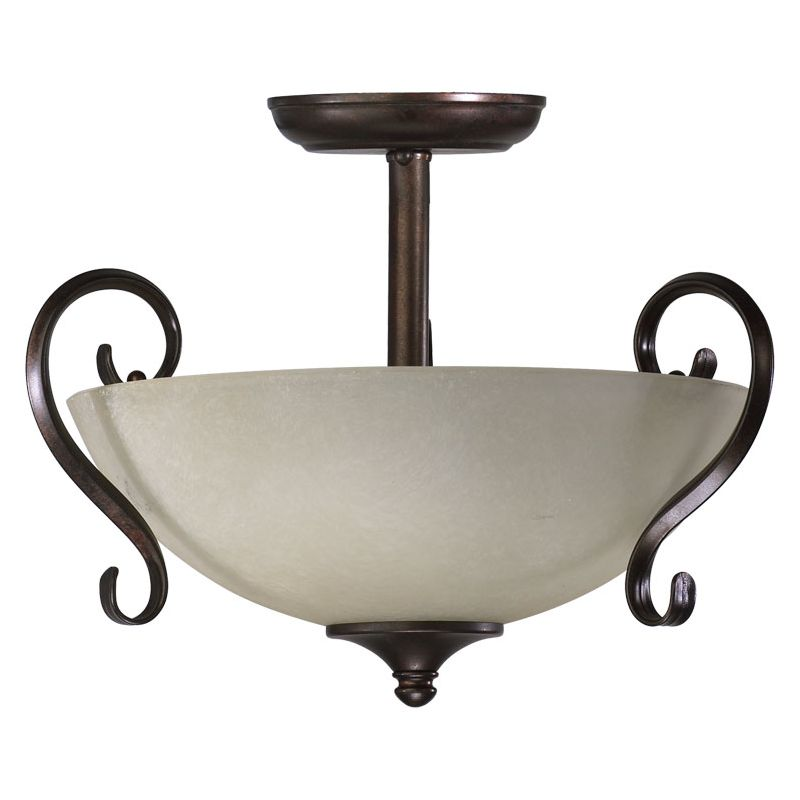Quorum International 2808-15 Two Light Duel Mount Ceiling Fixture from Sale $104.00 ITEM: bci729388 ID#:2808-15-44 :