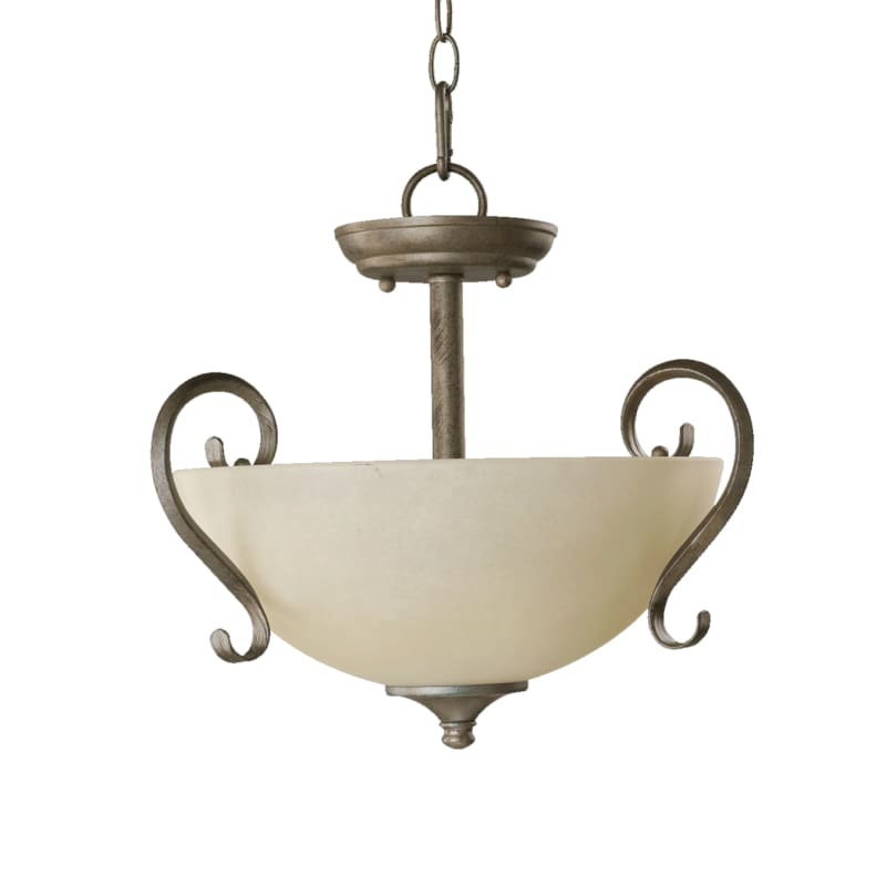 Quorum International 2808-15 Two Light Duel Mount Ceiling Fixture from Sale $104.00 ITEM: bci729390 ID#:2808-15-58 :