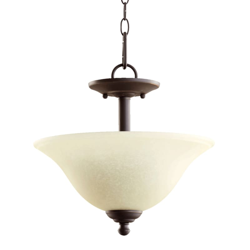 "Quorum International 2810-13 Spencer 13"" Wide 2 Light Pendant or"