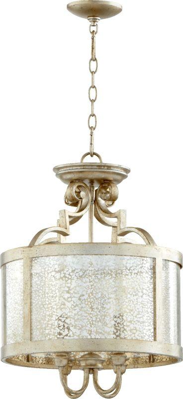 Quorum International 2881-16 Champlain 4 Light Drum Pendant Aged