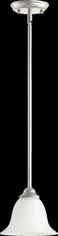 Quorum International 3053 Celesta 1 Light Mini Pendant Classic Nickel