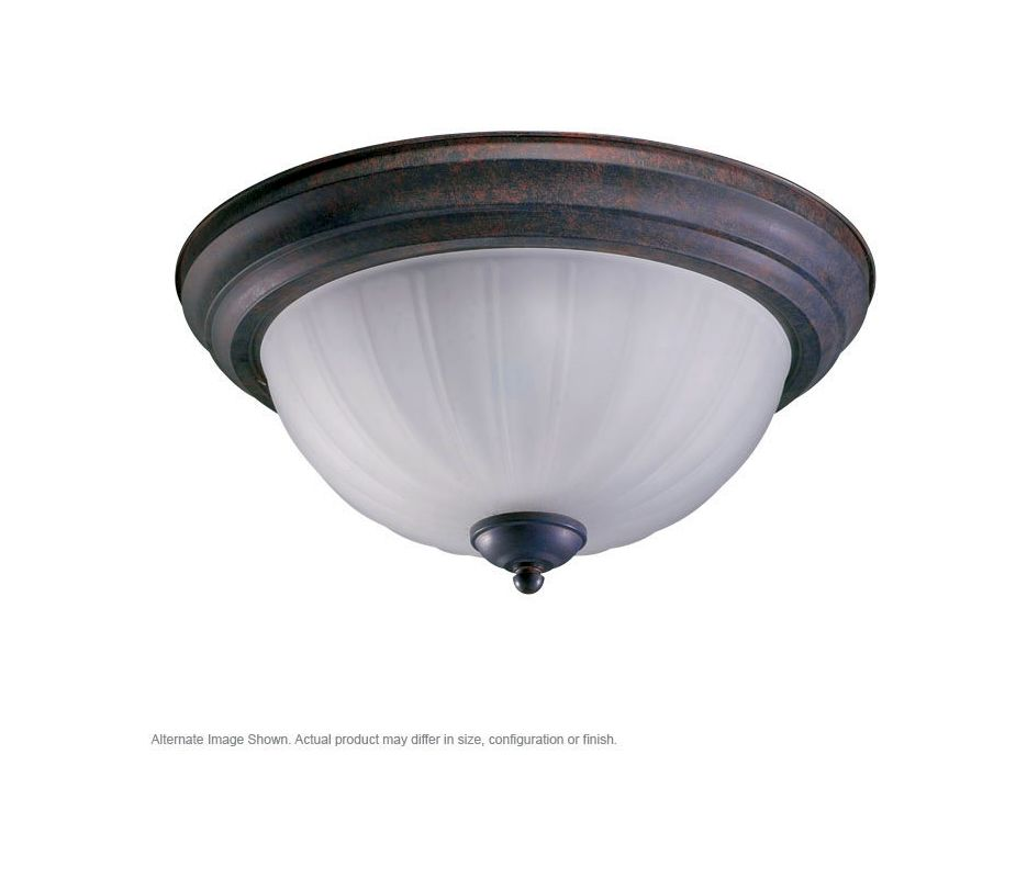 Quorum International Q3074-11 2 Light Flushmount Ceiling Fixture with Sale $35.00 ITEM: bci365561 ID#:3074-11-44 :