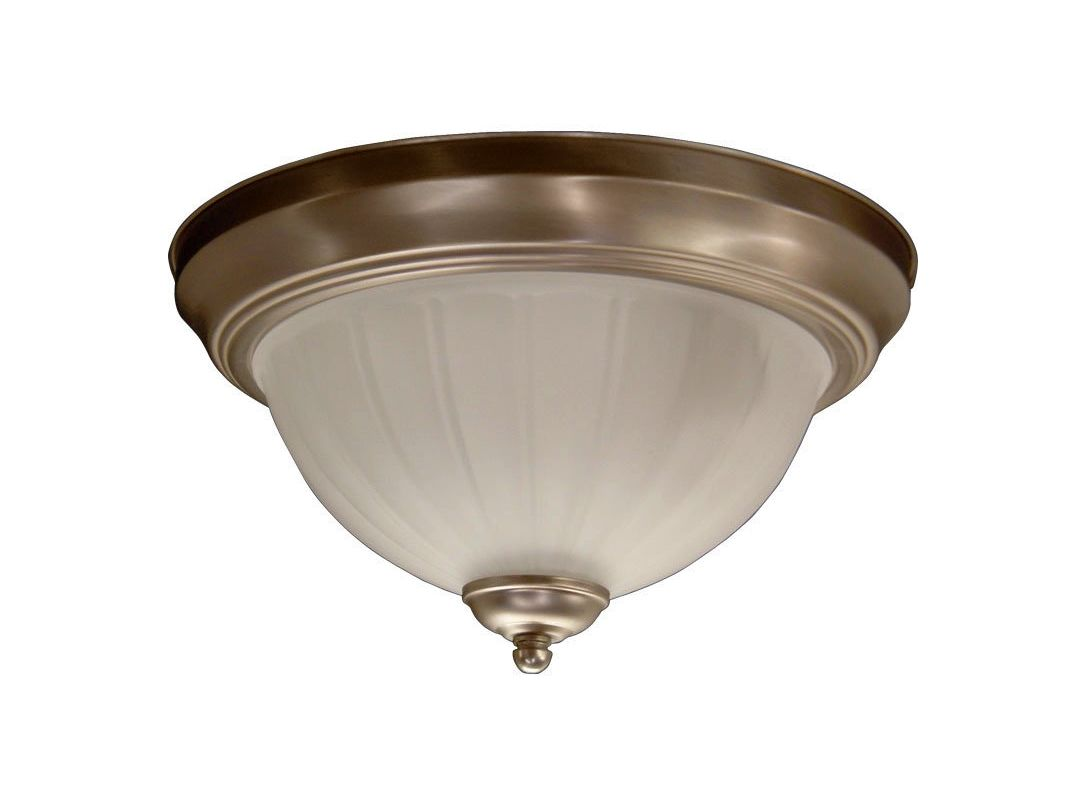 Quorum International Q3074-11 2 Light Flushmount Ceiling Fixture with Sale $32.50 ITEM: bci365559 ID#:3074-11-65 :