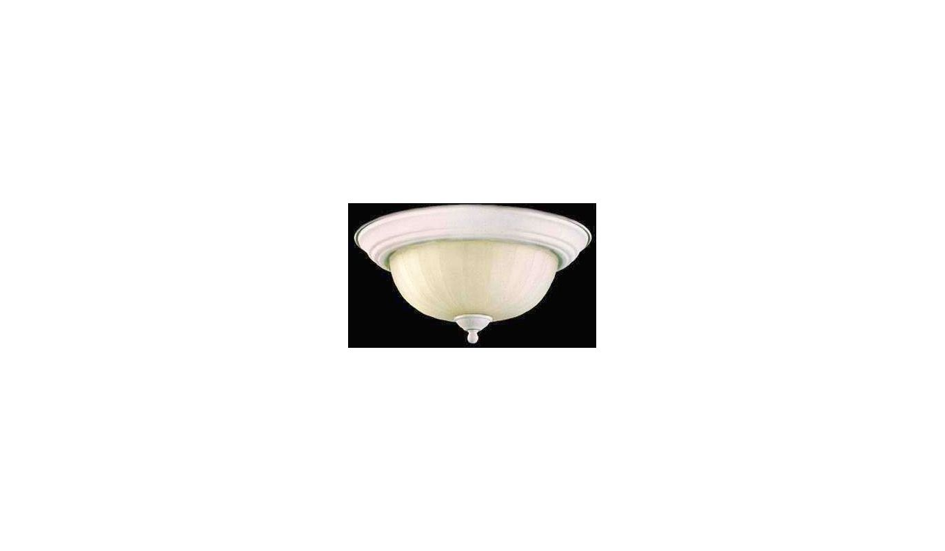 Quorum International Q3074-11 2 Light Flushmount Ceiling Fixture with Sale $35.00 ITEM: bci365560 ID#:3074-11-66 :