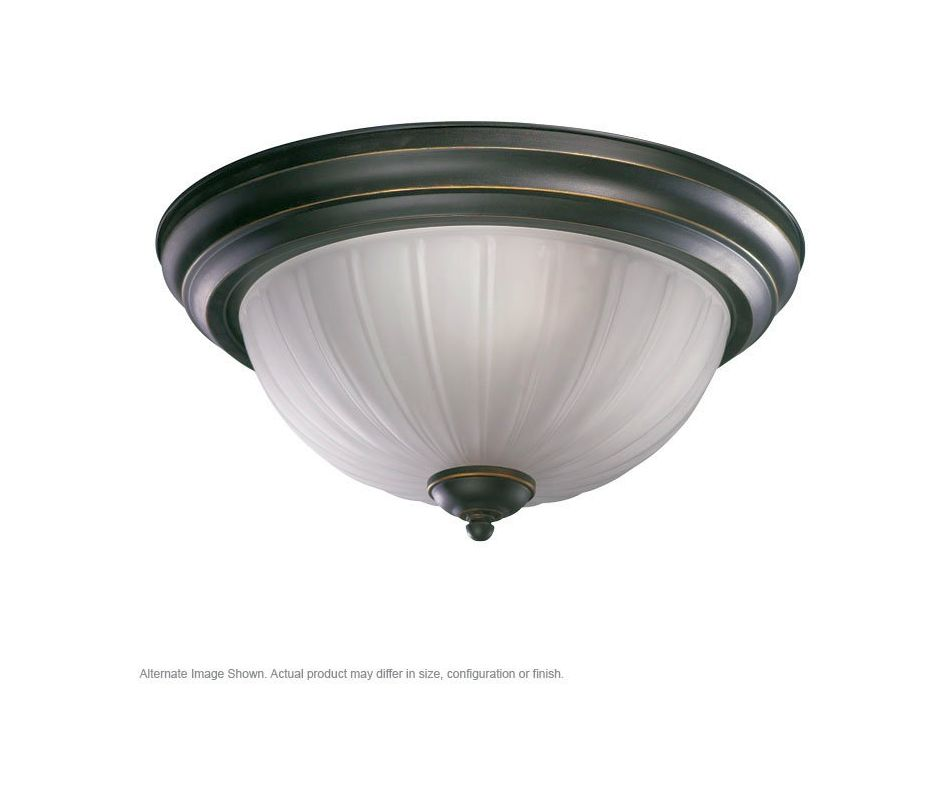 Quorum International Q3074-11 2 Light Flushmount Ceiling Fixture with Sale $35.00 ITEM: bci365557 ID#:3074-11-95 :