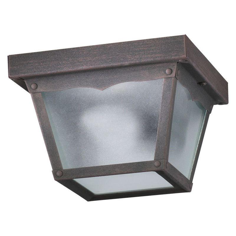 Quorum International Q3080-7 1 Light Flushmount Outdoor Ceiling