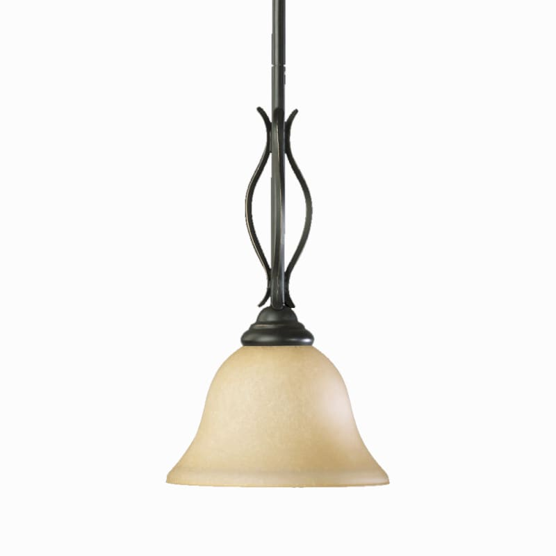 "Quorum International 3110 Spencer 8"" Wide Single Light Pendant with"