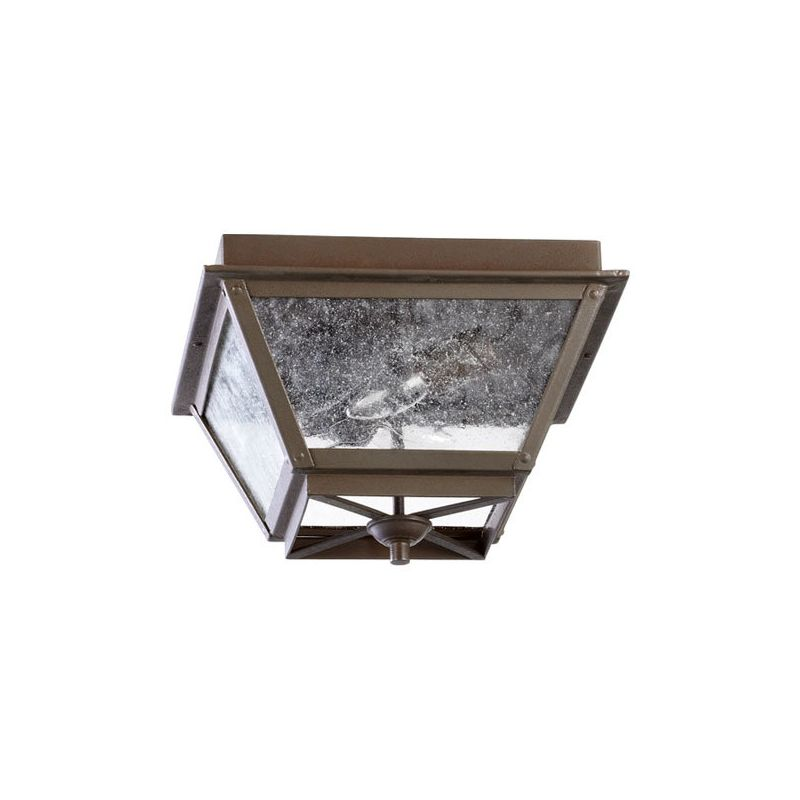 Quorum International 3124-13 Emile 2 Light Flushmount Outdoor Ceiling