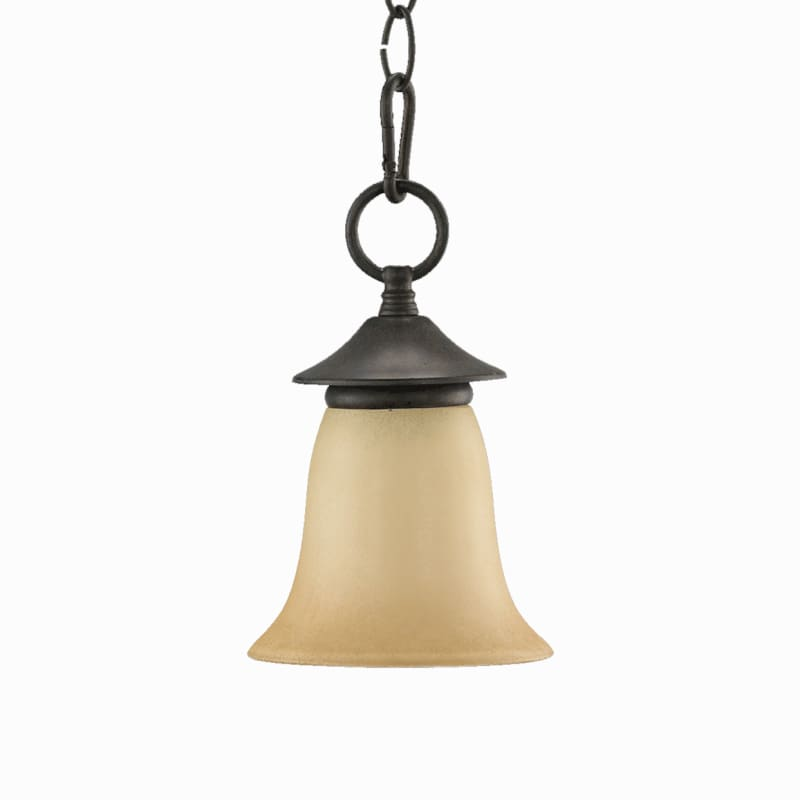 Quorum International 315 Coventry 1 Light Mini Pendant Toasted Sienna