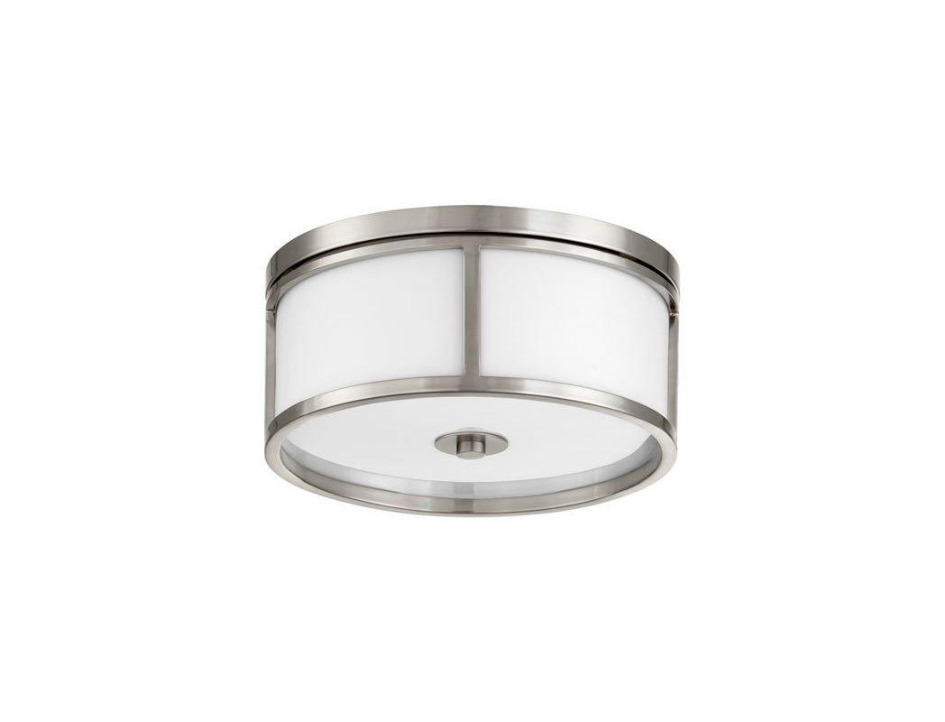 Quorum 3200-15-65 Satin Nickel Contemporary Omega Ceiling Light