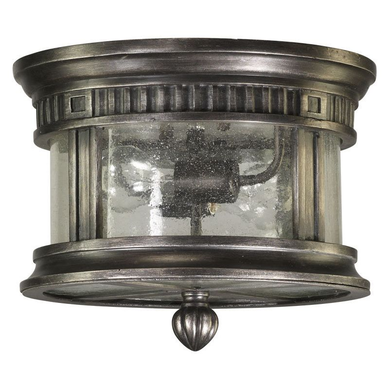 Quorum International Q3222-12 Presidio 2 Light Flushmount Outdoor
