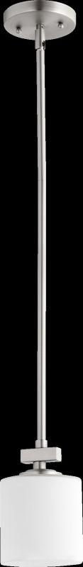 Quorum International 3369 1 Light Mini Pendant with Glass Round Shade