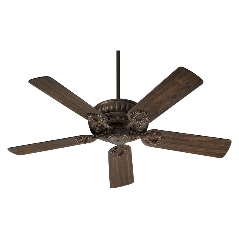 "Quorum International 35525-88 52"" Indoor Fan from the Empress"
