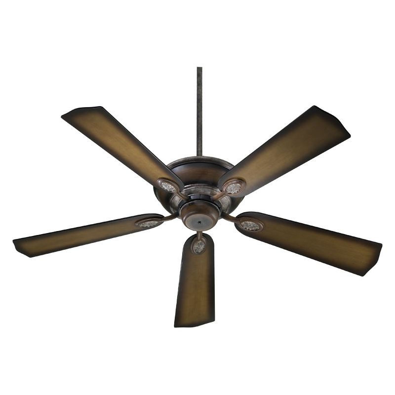 """Quorum International 38525 52"""" Indoor Ceiling Fan from the Kingsley"""