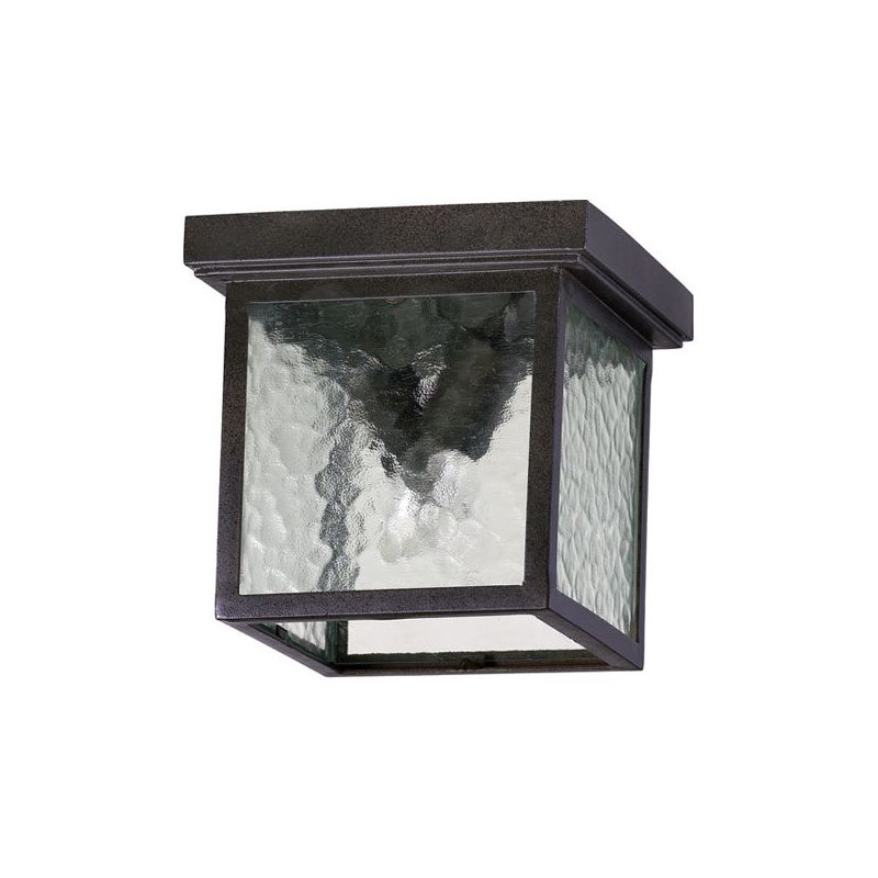 Quorum International 3919-9 Bourbon Street 2 Light Flushmount Outdoor