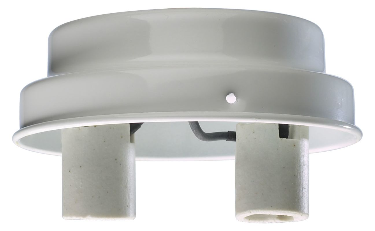 Quorum International 4106-CFL One CFL Light Outdoor Down Lighting Fan