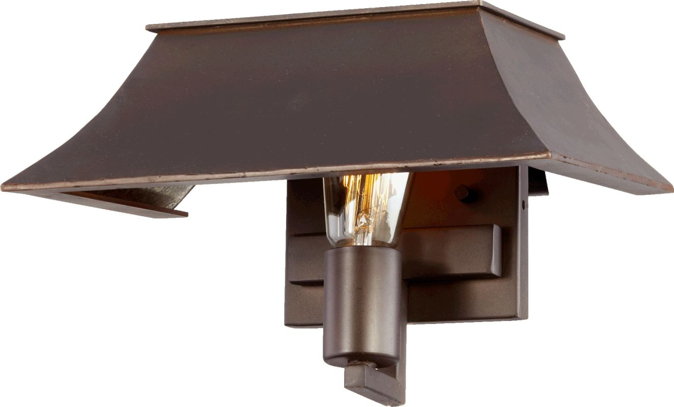 Quorum International 507-1 Vanguard 1 Light Lantern Wall Sconce Oiled Sale $90.00 ITEM: bci2368609 ID#:507-1-86 :
