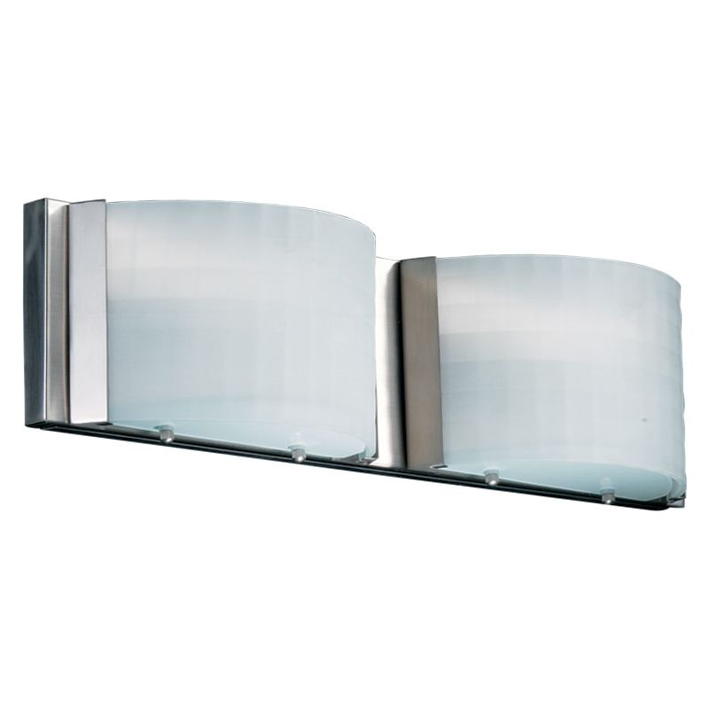 Quorum 5083-2-65 Satin Nickel Contemporary Wall Mounts Bathroom Light Sale $95.00 ITEM: bci365999 ID#:5083-2-65 :