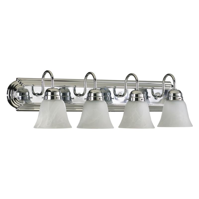 "Quorum International 5094-4-114 Four Light 30"" Wide Bathroom Fixture"