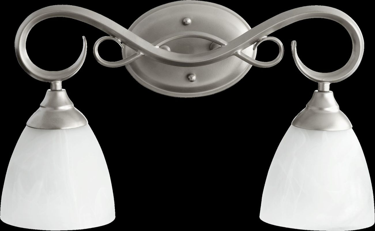 Quorum International 5108-2 Powell 2 Light Bathroom Vanity Light Sale $74.00 ITEM: bci2220525 ID#:5108-2-64 :
