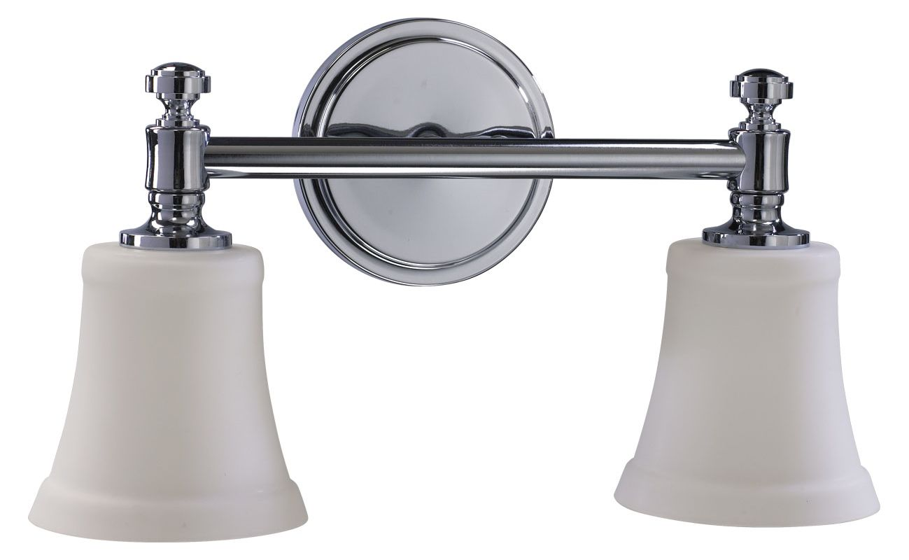 "Quorum International 5122-2-14 Two Light 16.5"" Wide Bathroom Fixture"