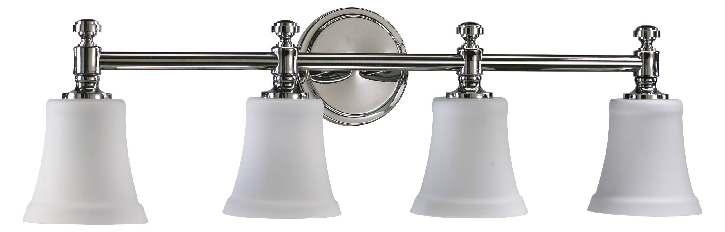 "Quorum International 5122-4-14 Four Light 30"" Wide Bathroom Fixture"