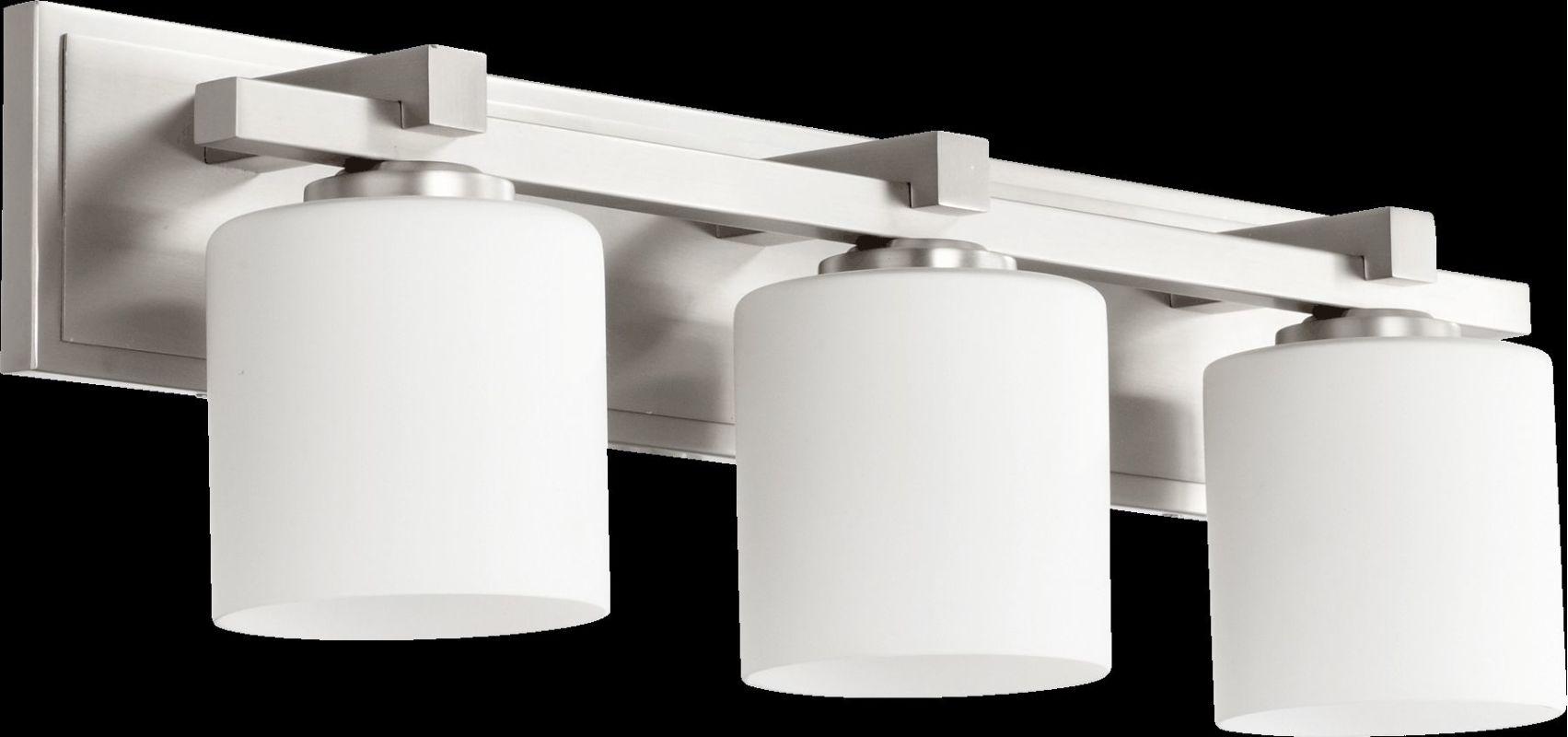 Quorum International 5369-3 3 Light Bathroom Vanity Light with Satin