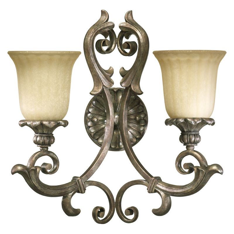 Quorum International 5400-2 Barcelona 2 Light Bathroom Vanity Light Sale $159.00 ITEM: bci729725 ID#:5400-2-58 :