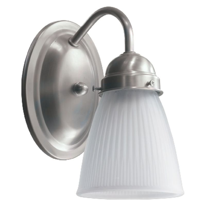 Quorum International 5403-1-165 1 Light Bathroom Sconce with Frosted