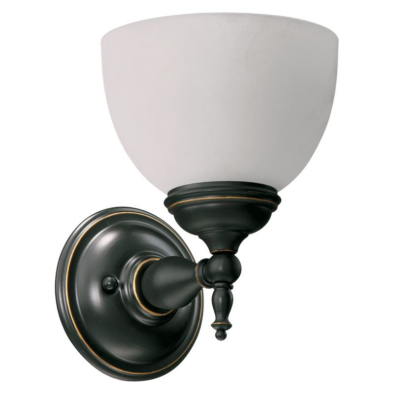 Quorum International Q5435-1 Ashton 1 Light Bathroom Sconce Old World