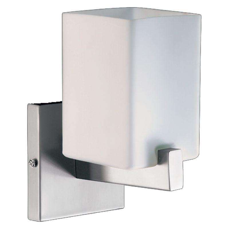 Quorum 5476-1-65 Satin Nickel Contemporary Modus Wall Sconce